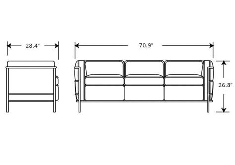 3 seat sofa size dimensions of cool standard size