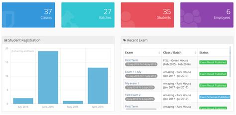 bootstrap templates for school management system rani school management system by noman azeem codecanyon
