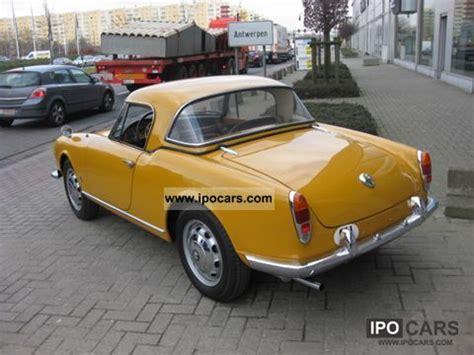 1959 alfa romeo giulietta spider hardtop car photo and
