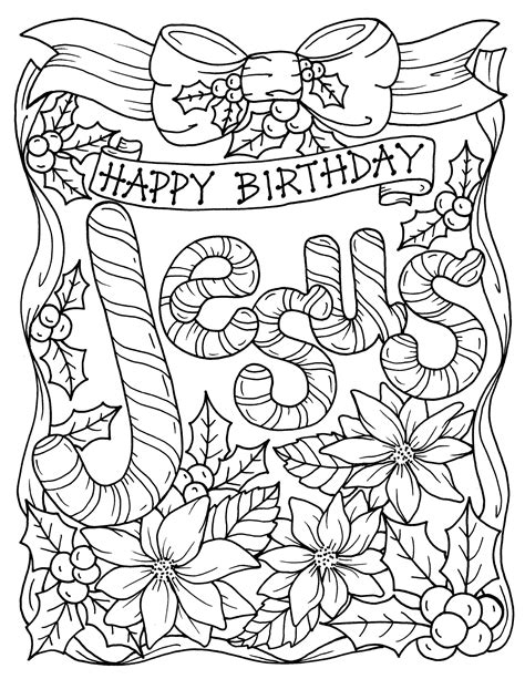 pages christmas coloring christian religious scripture etsy