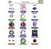 Logo Samochody Poziom 9 Cars Level