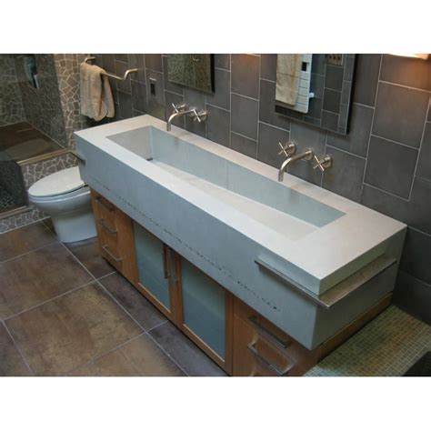 double trough style bathroom sink double trough style bathroom sink sinks ideas