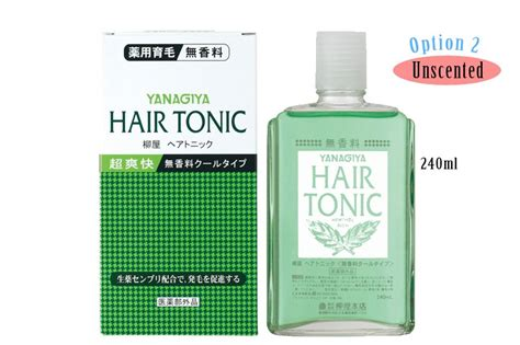 Kara Detox Scalp Tonic by Buy 2 Free Shipping Japan Yanagiya Hair Tonic 240ml