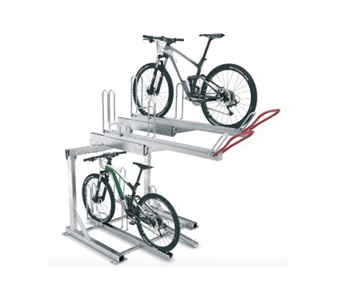 Rack A Tiers Easy by 2 Tier Easy Park Gas Operated Bike Rack