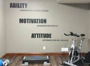 Workout Room Decor Lou Holtz Quote Home Gym Wall Decal Crossfit Wall Decal
