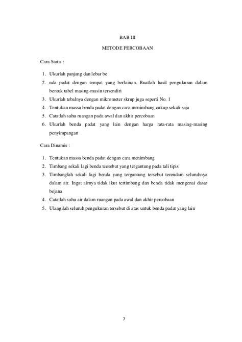 cara membuat laporan praktikum fisika dasar laporan praktikum fisika pengukuran dasar pada benda padat