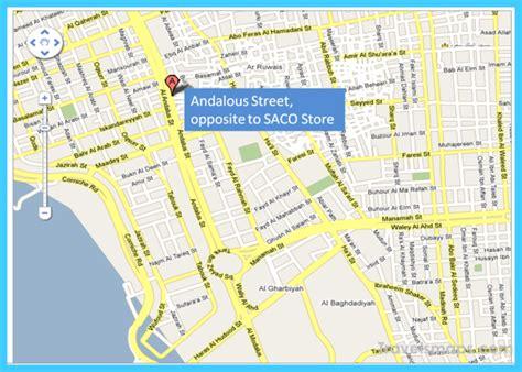 jidda map map of jeddah vacations travel map
