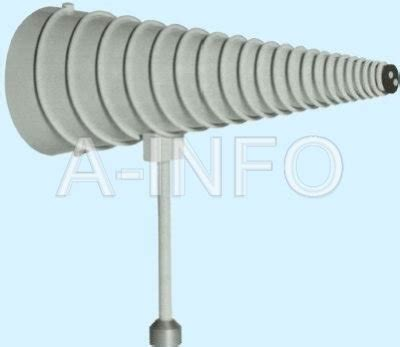 conical log spiral antenna