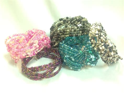 Easy Braided Memory Wire Cuff Bracelet Tutorial ~ The Beading Gem's Journal