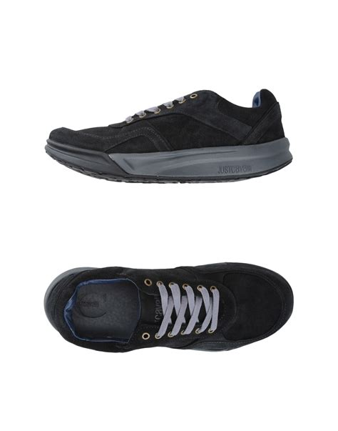 just cavalli sneakers just cavalli sneakers in black for lyst