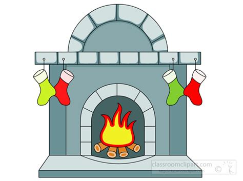 Fireplace Clipart by Fireplace Free To Use Clipart Clipartix