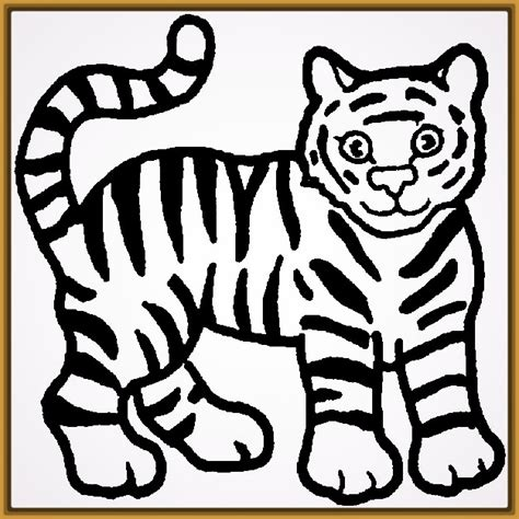 imagenes infantiles tigres tigres para dibujar a lapiz faciles para imprimir fotos