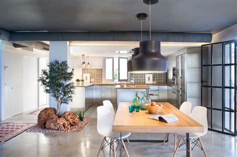comedor integrado  cocina  salon en benicassim