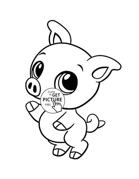 coloring pages of baby farm animals baby farm animal coloring pages for kids
