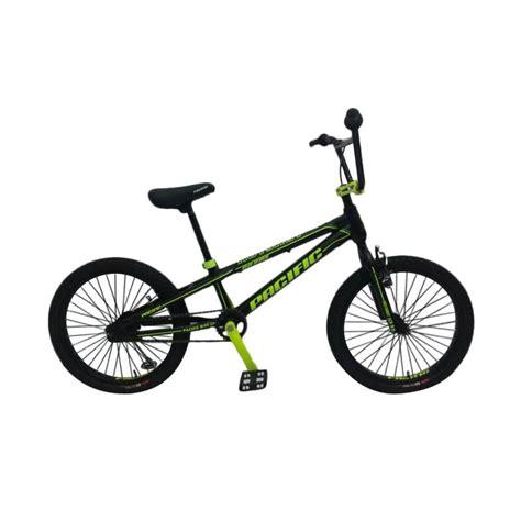Sepeda Bmx Anak Pacific Plazzo 20 Inchi jual daily deals pacific hotshot xcr 3 0 sepeda bmx hitam list hijau 20 inch