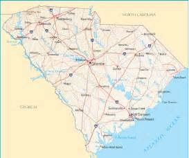 south carolina map blank political south carolina map