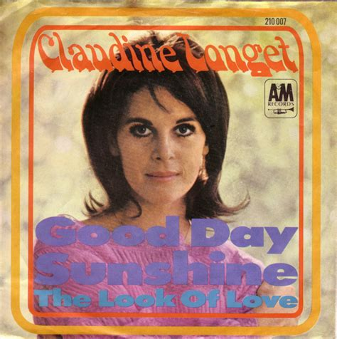 claudine longet the look of love 45cat claudine longet good day sunshine the look of