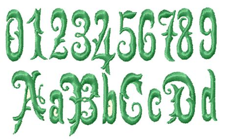 Garden Font by Buy The Whole Collection For Only 9 99