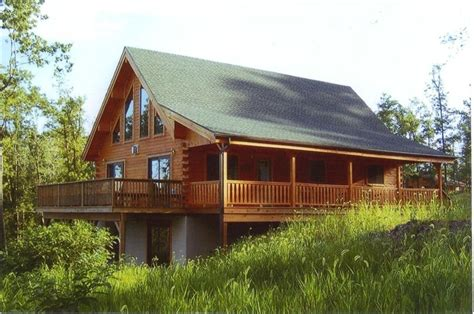 amish built log home with 50 mile view homeaway mount