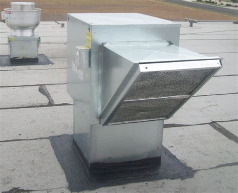 commercial roof exhaust fans make up air unit return air fan