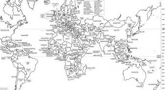 World Political Map Outline Printable by Yoel Natan Site Map