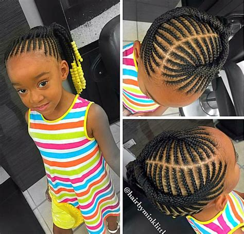 Kid Ponytail Hairstyles by Braided Ponytail Naturalista Kid