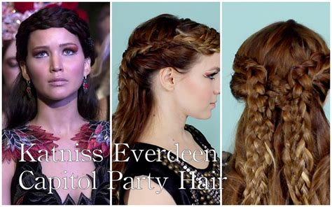 Katniss Everdeen Hairstyles by Katniss Everdeen S Catching Capitol Hairstyle