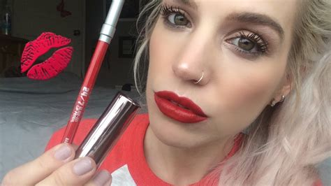 Decay Vice Lipstick Comfort Matte Bad Blood decay lipstick i ve tried bad blood