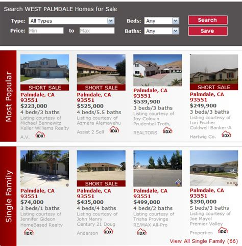 houses for sale in palmdale ca west palmdale ca homes for sale and real estate search