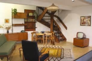 1950s living room geffrye museum