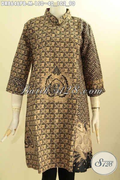 Tunik Batik Cantik Parang Sogan tunik batik wanita elegan tunik batik wanita model terbaru