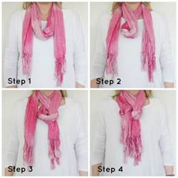 how to tie a s neck scarf