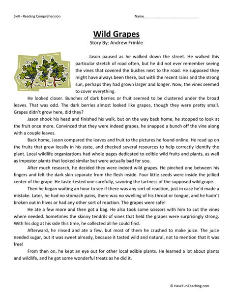 Reading Worksheets For 5th Grade by Pin 5th Grade Nonfiction Reading Passages On