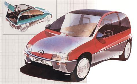 1983 opel junior concepts