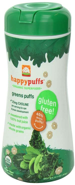 whole grains for baby happy baby whole grain green puffs organicpowerfoods