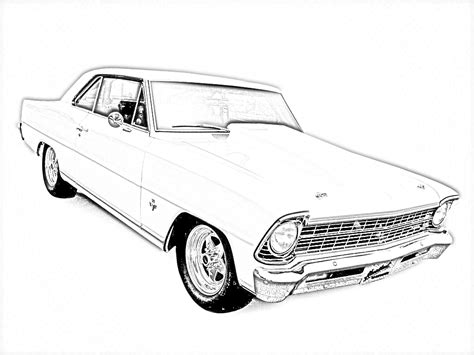 free printable coloring pages of cars for adults old car coloring adult coloring pages