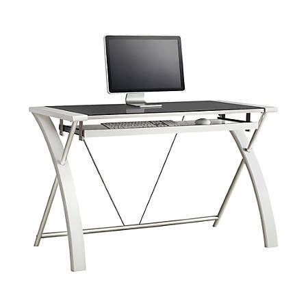 whalen zara computer desk whalen furniture zara computer desk white by office depot