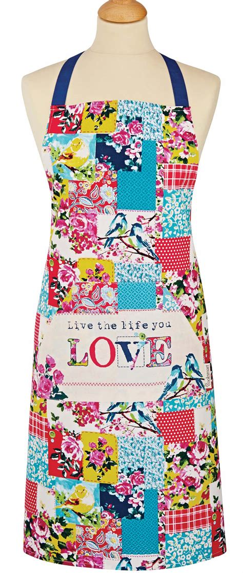 Patchwork Apron - wholesale bulk patchwork kitchen apron