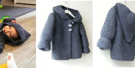 baby knitted hooded jacket free patterns hooded knitted baby jacket free knitting pattern