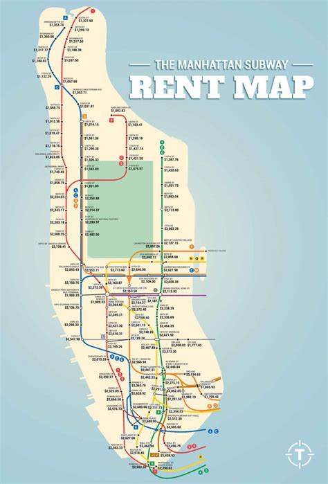 manhattan map subway 8 best images about nyc real estate charts maps on