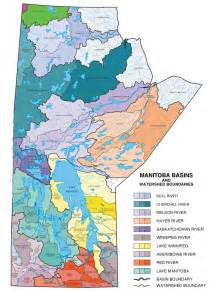canada drainage map flood information infrastructure province of manitoba