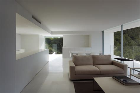 Neoclassical Interior Design contemporary house on the cliff by fran silvestre