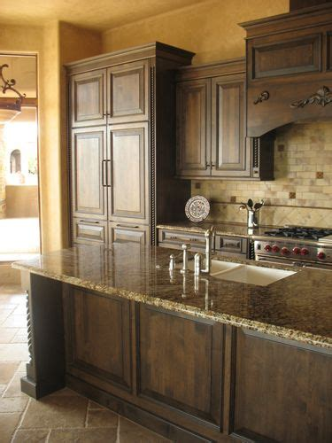 dark stained kitchen cabinets best 25 tuscany kitchen ideas on pinterest tuscany
