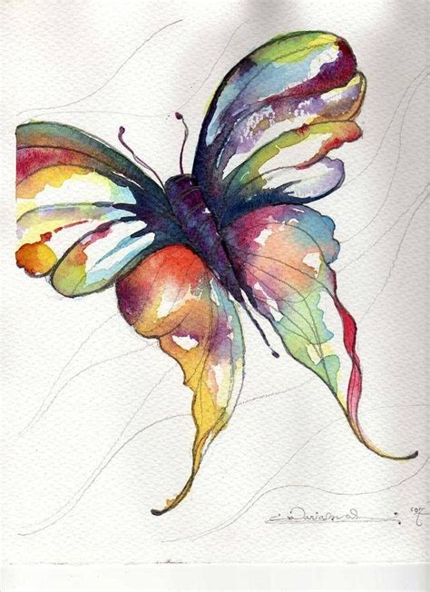 watercolor butterfly watercolor butterfly art