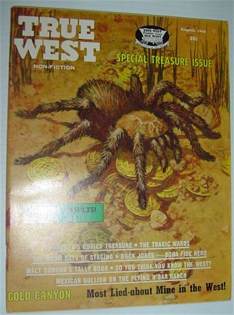 True Search Privacy True West Magazine August 1966 Special Treasure Issue Contributors