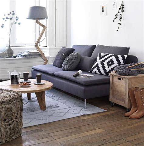 Kivik Sofa With Chaise Veja Como Decorar Sua Casa Com Sof 225 Preto