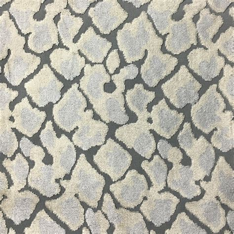 upholstery velvet fabric by the yard hendrix leopard pattern cut velvet upholstery fabric by