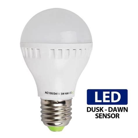 Buy 3w Es E27 Led Dusk Till Dawn Sensor Bulb Neutral White Dusk To Led Light Bulb