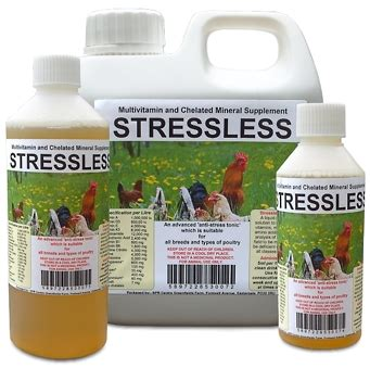 Vitamin Orbird Stressless Anti Stress Tonic For Poultry Spr Centre Uk