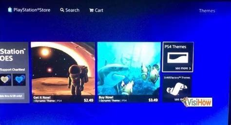 do ps4 themes move change the theme on ps4 visihow